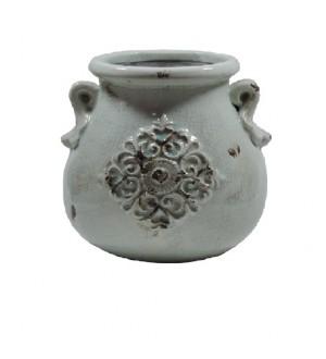 Ânfora cerâmica bojuda pequena