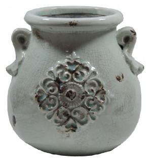 Ânfora cerâmica bojuda média